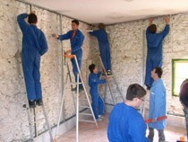 ремонт стен помещений Бердск