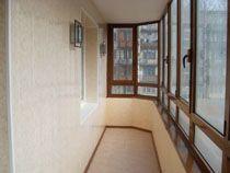 Отделка балкона в Бердске. Отделка лоджии